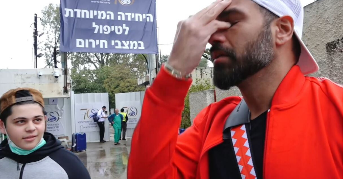 מאיר כהן הבעלים של הפיראט האדום כשהחלים מהקורונה