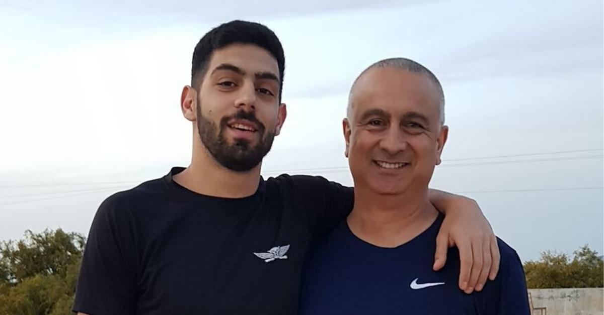"""עמית בן יגאל ז""""ל ואביו ברוך במפגש האחרון"""