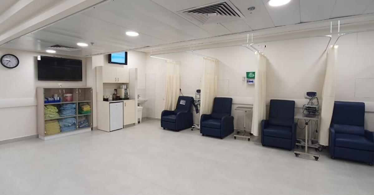 חדר המטופלים החדש