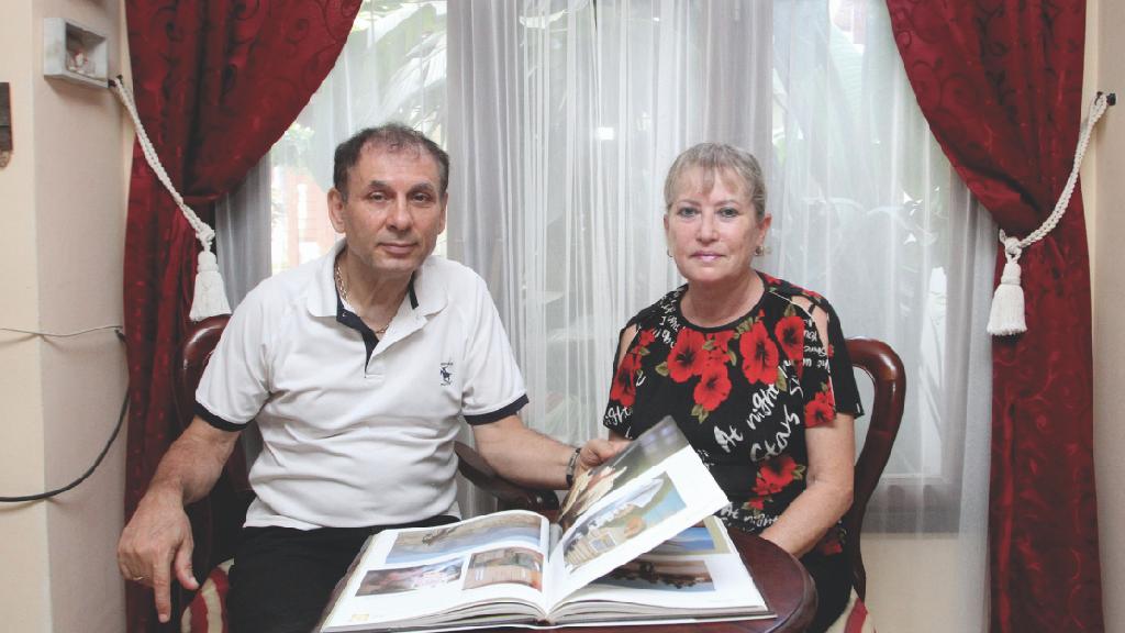 דוד סופר ואשתו. התכנסות פנימית