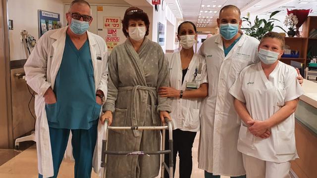 מריה צ'ובטרו יום אחרי הניתוח