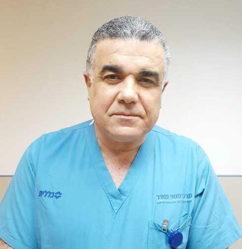 פרופ' עבד עסלי מנהל מערך הלב במרכז הרפואי מאיר מקבוצת כללית