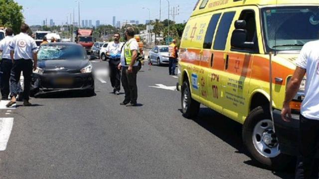 שני פצועים בתאונה