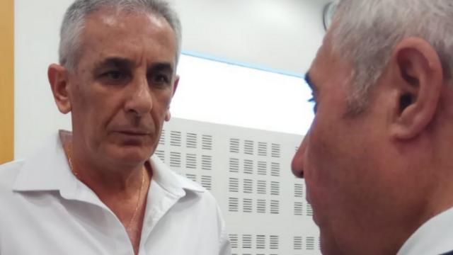 ראש עיריית כפר סבא לשעבר יהודה בן חמו. הורשע בשלושת הסעיפים