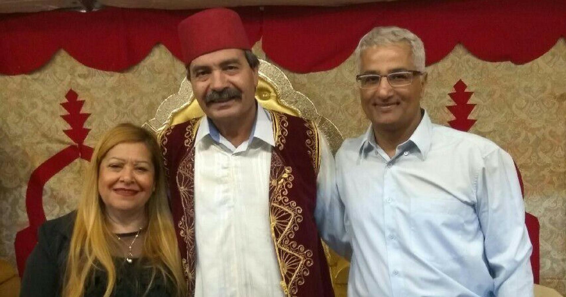 יאיר אברהם אצל משפחת בן סעדון ביוספטל | צילום: פרטי