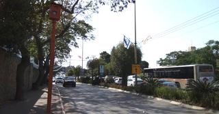•מצלמת רמזור ומהירות: בן יהודה 6, כפר סבא (צילום: חן זמיר)
