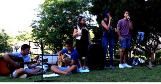 """מנגינות בגינות (צילום: באדיבות עיריית כפ""""ס)"""