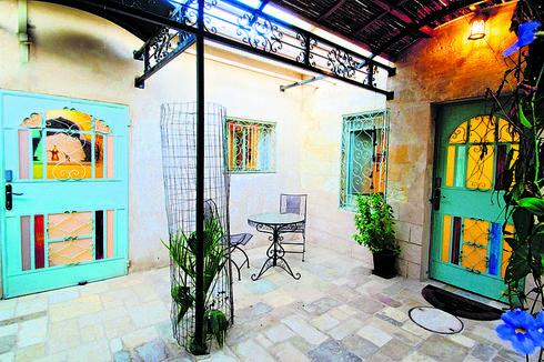 בית בעתיקה בבאר שבע | צילום: אסף פינצוק
