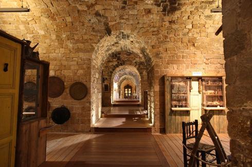 מוזיאון אוצרות בחומה. צילום: סיון פרג'