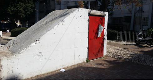 מקלט ציבורי בשכונת יוספטל פתח תקוה. צילום: אייל עצמון