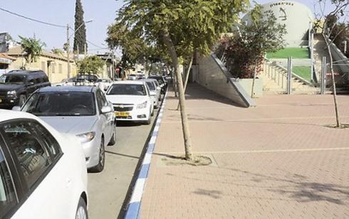 חניה כחול לבן | צילום המחשה: הרצל יוסף