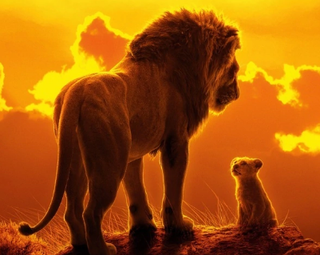 """מתוך כרזת הסרט """"מלך האריות"""", 2019"""