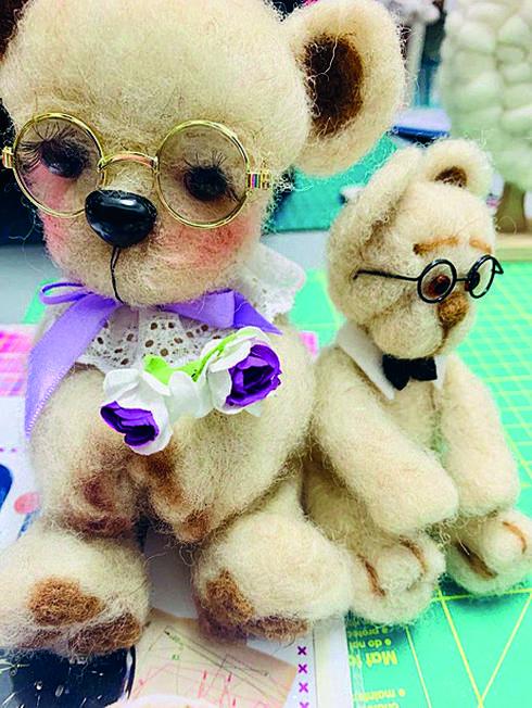 הדובים של קלרה   צילום: קלרה גולדשטיין